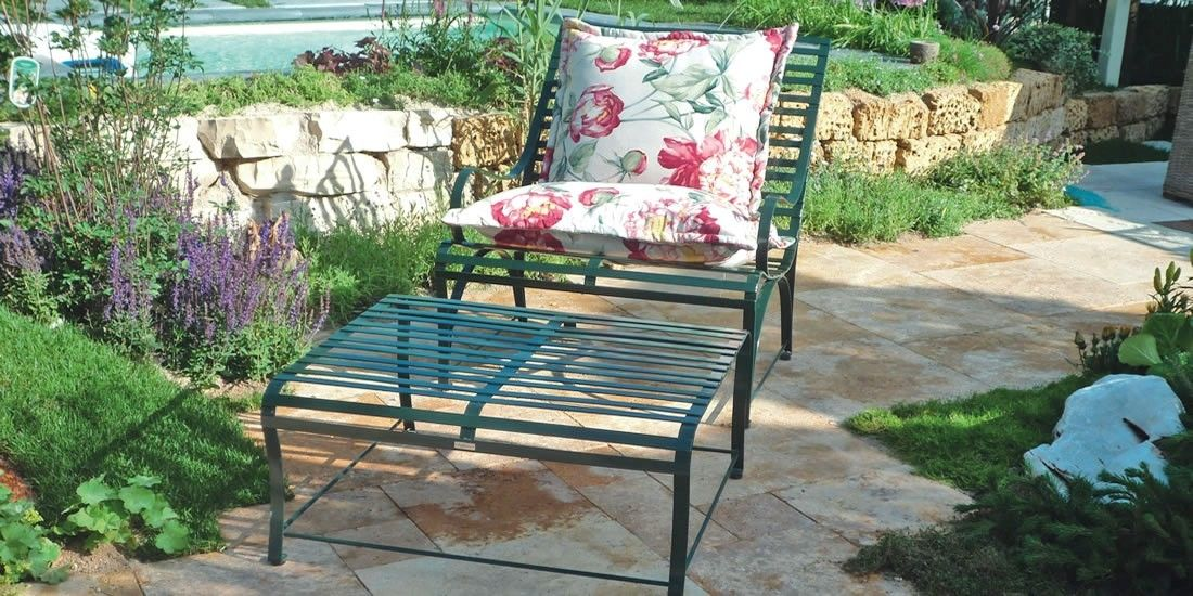 designs und lieferprogramm an edelstahl gartenm beln von la sedia. Black Bedroom Furniture Sets. Home Design Ideas