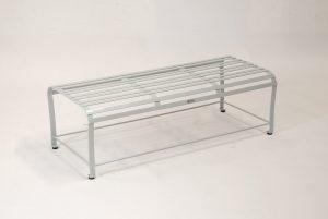 Hochwertiger Loungetisch Monaco aus Edelstahl handgearbeitet und Pulverbeschichtet; modernes, geradliniges Design; für den Wohn- und Gartenbereich und im Wintergarten