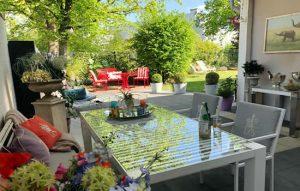 Besuchen Sie unseren Showgarten mit der aktuellen Design Gartenmöbel Kollektion südlich von Münster